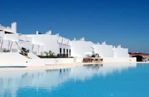 Zwembad van Villas D'Aqua in Olhos d'Água, Portugal