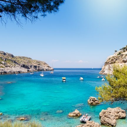 anthony quinn bay op rhodos