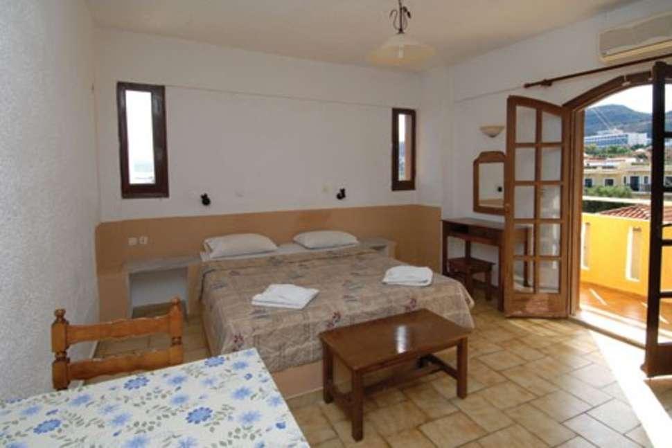 Appartement van Adams Appartementen in Chersonissos, Kreta
