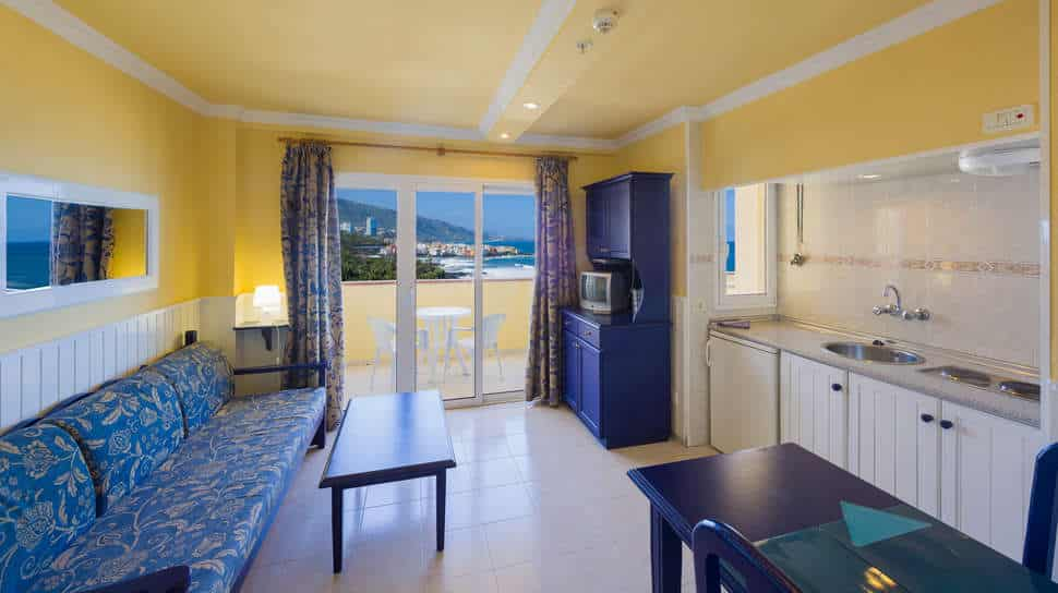 Appartement van Appartementen Teneguia in Puerto de la Cruz, Tenerife