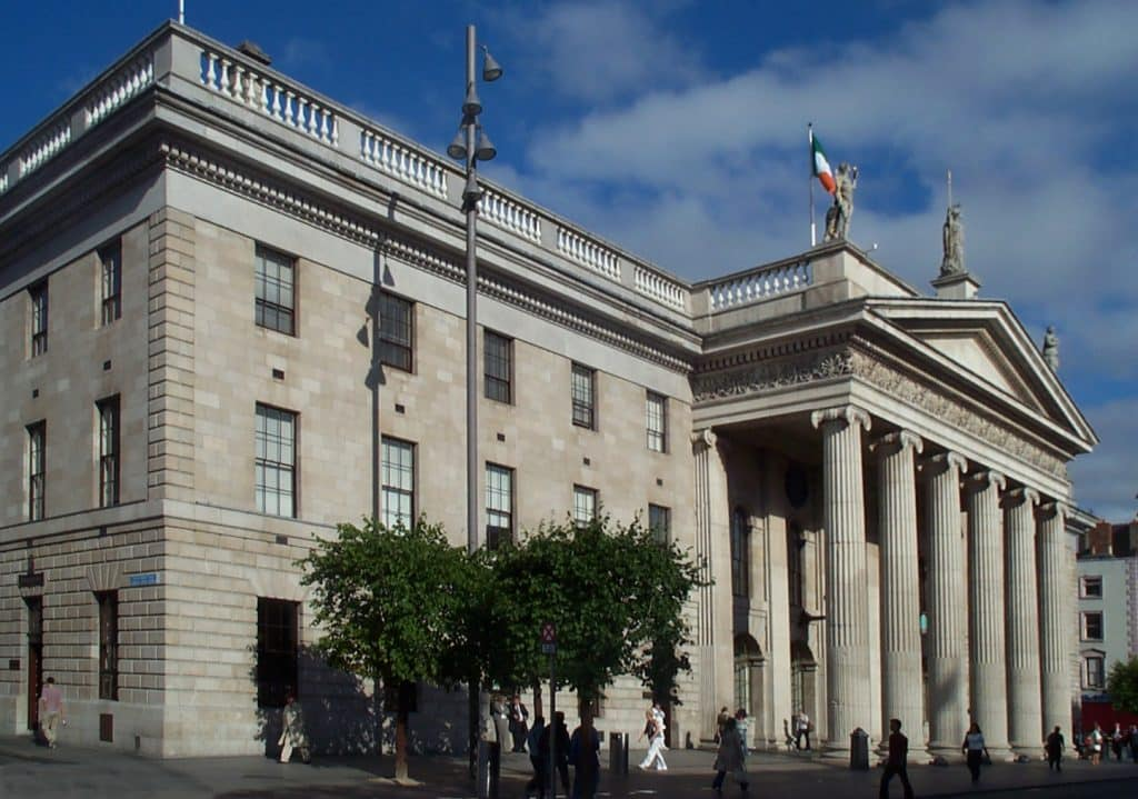 General Post Office in Dublin, Ierland