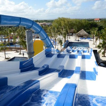 Glijbanen van SPLASHWORLD Memories Splash Punta Cana in Punta Cana, Dominicaanse Republiek