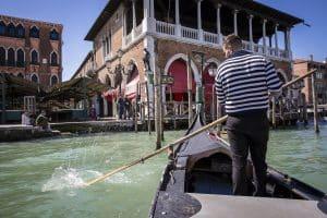 in Venetië, Italië