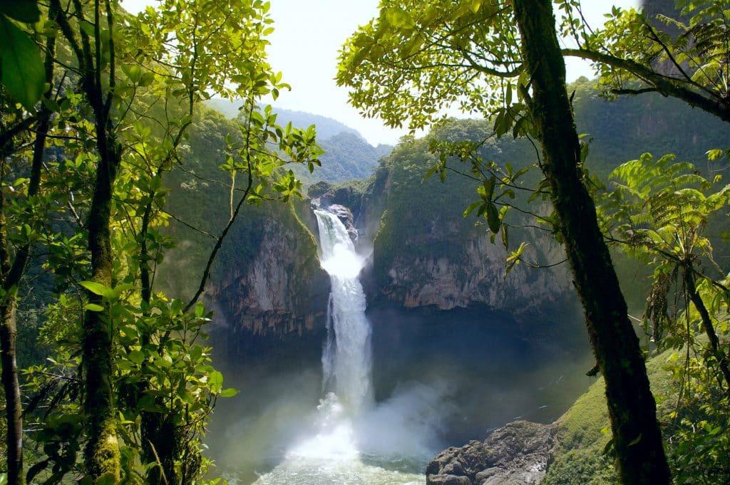 Grootste waterval van Ecuador