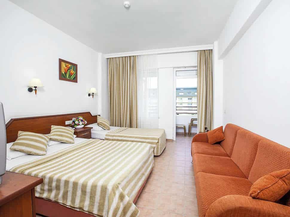 Hotelkamer van Eftalia Resort in Alanya, Turkije