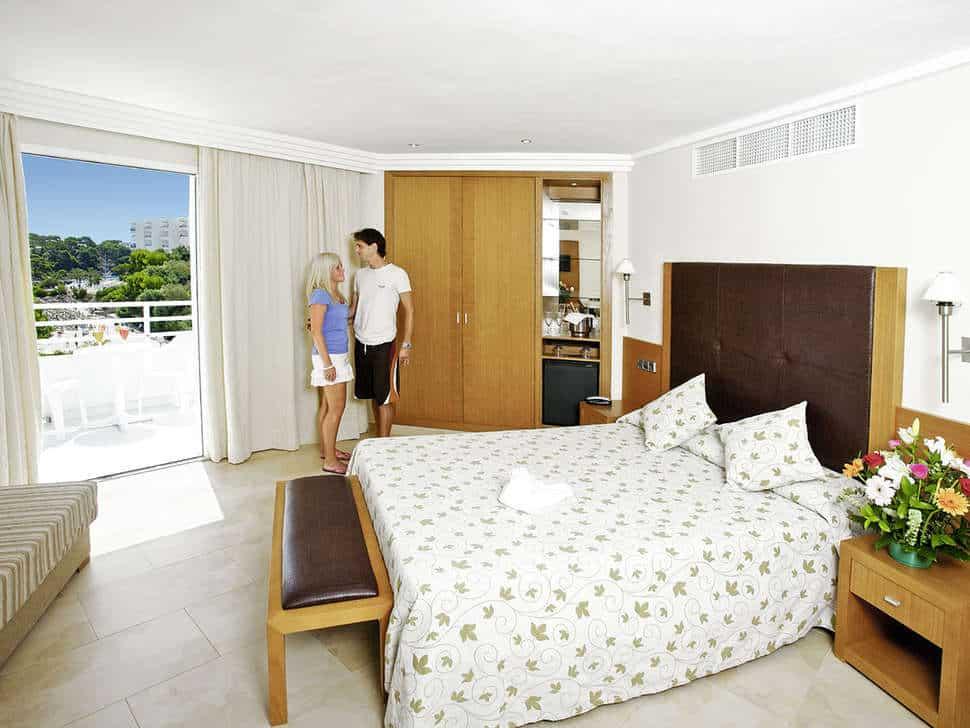 Hotelkamer van Ferrera Blanca hotel in Cala d'Or, Mallorca