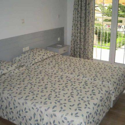 Hotelkamer van Filippas Appartementen in Gouvia, Corfu