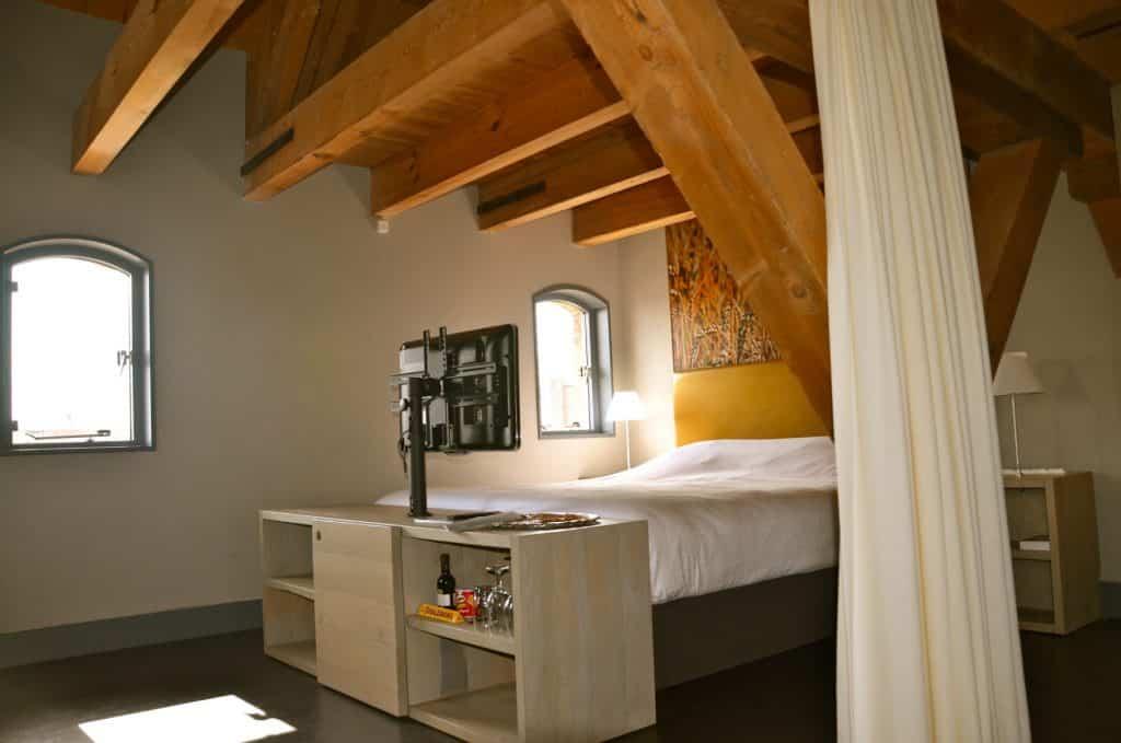 Hotelkamer van H Design Hotel Kasteel Coevorden in Drenthe