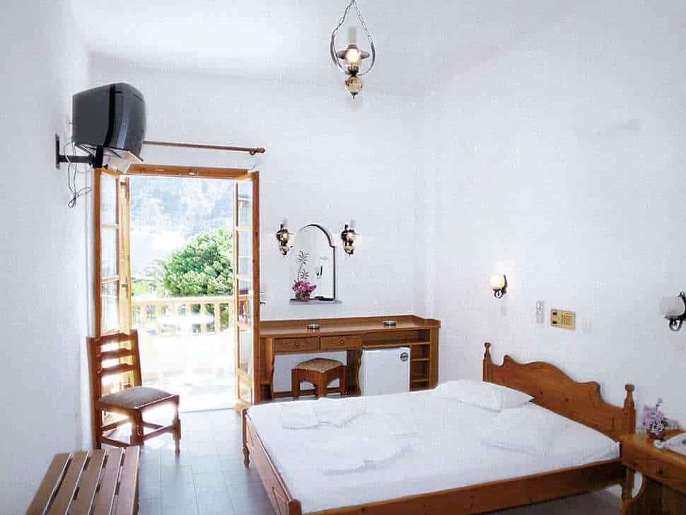 Hotelkamer van Hotel Armonia in Kamari, Santorini