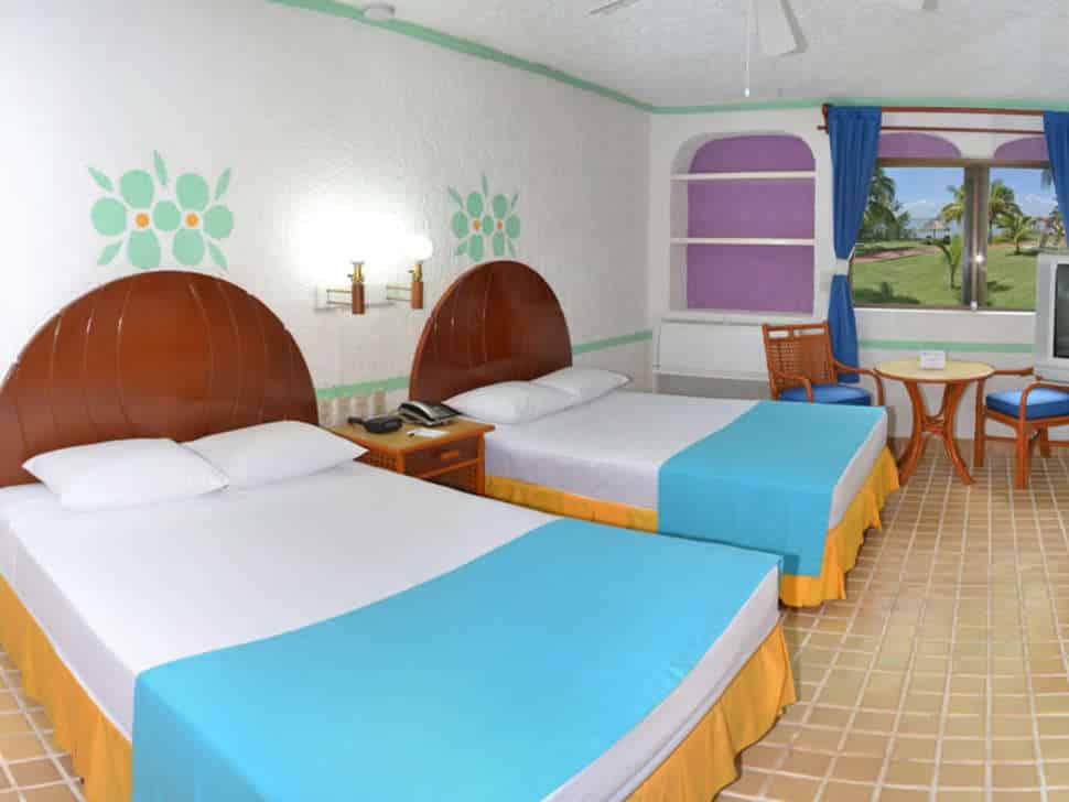 Hotelkamer van Hotel Cancun Clipper Club in Cancún, Mexico