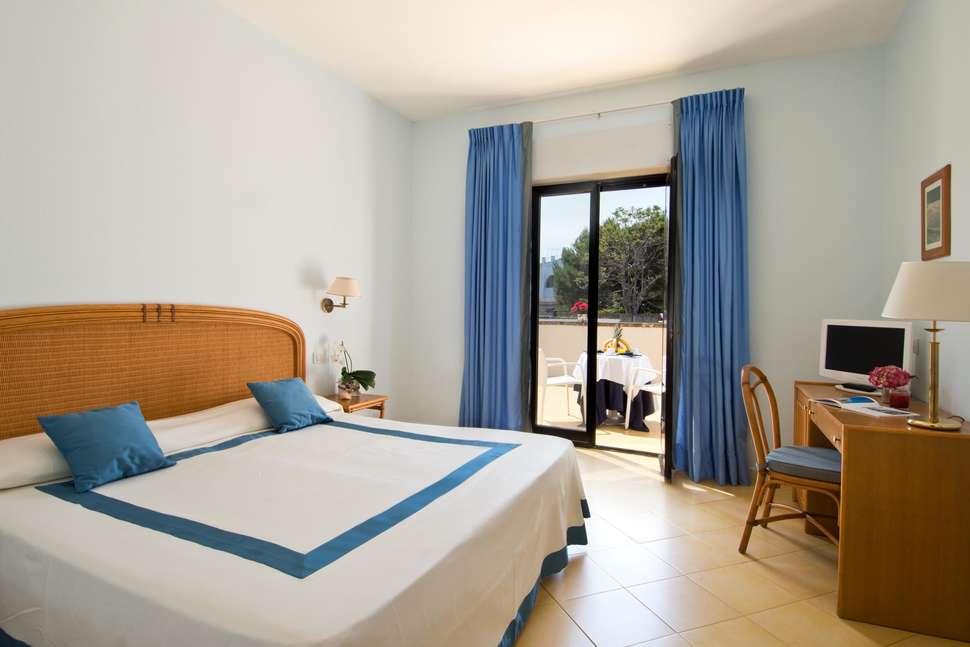 Hotelkamer van Hotel Del Levante in Torre Canne, Italië