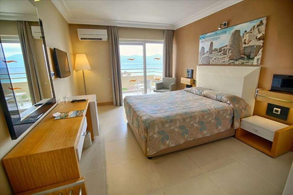 Hotelkamer van Hotel Ephesia in Kusadasi, Turkije