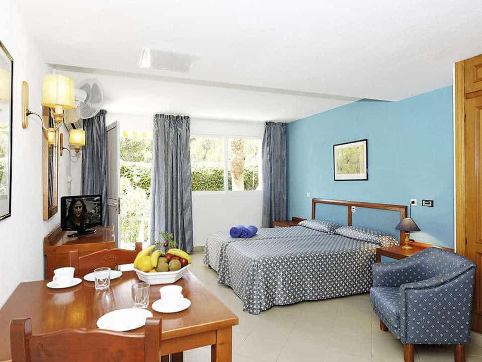Hotelkamer van Hotel Floramar in Cala Galdana, Menorca