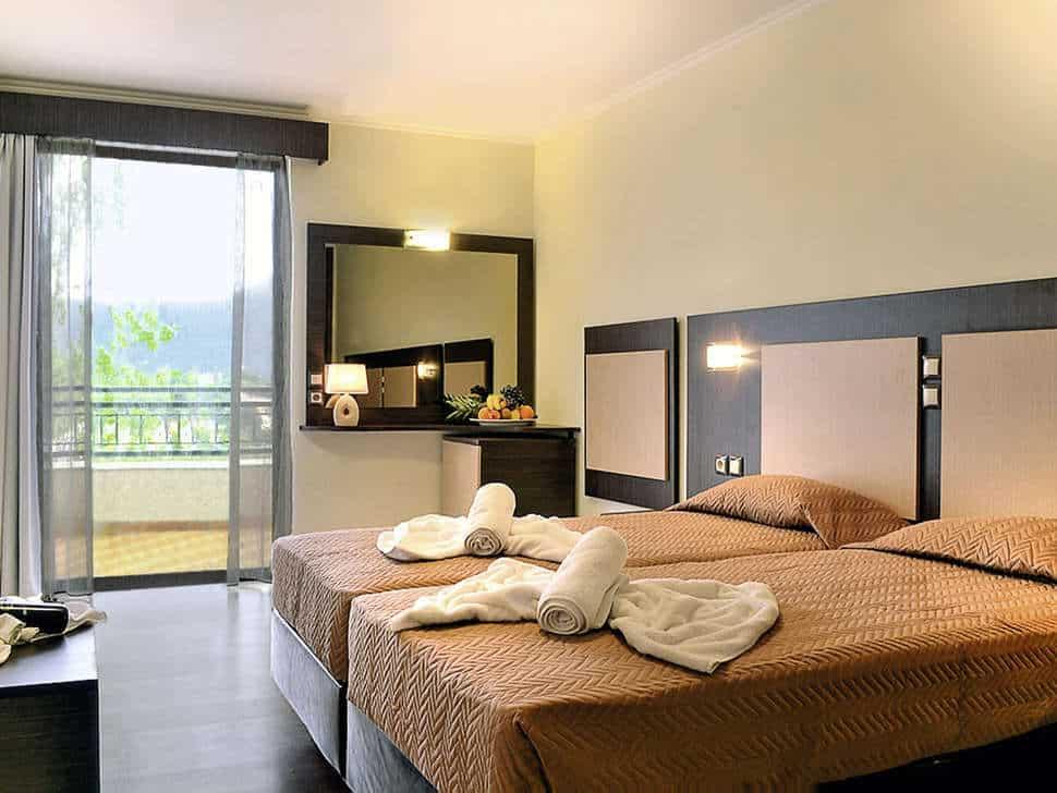 Hotelkamer van Hotel Magna Graecia in Dassia, Corfu