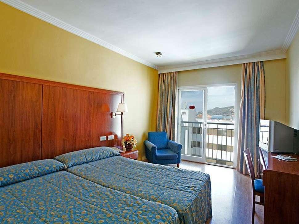 Hotelkamer van Hotel Perla Marina in Nerja, Costa del Sol, Spanje