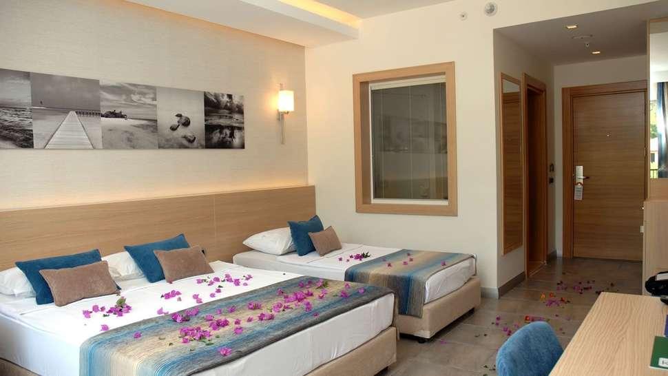 Hotelkamer van Kervansaray Resort Marmaris in Marmaris, Turkije