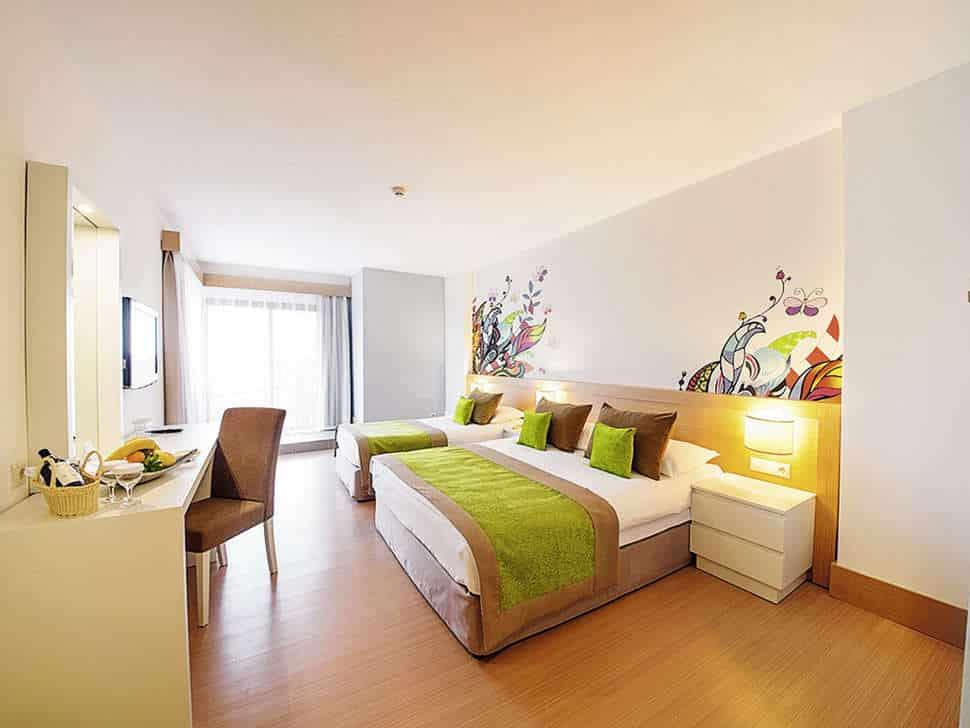 Hotelkamer van Limak Arcadia Golf & Sport Resort in Belek, Turkije