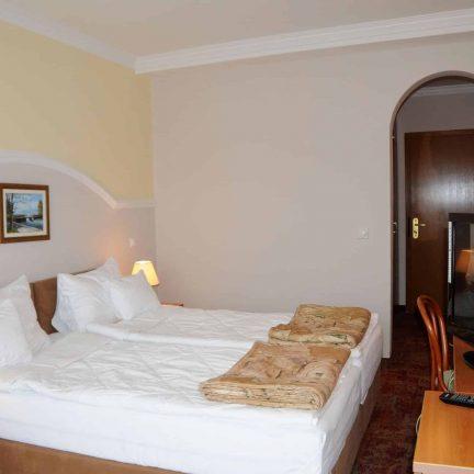 Hotelkamer van Makpetrol Hotel in Struga, Macedonië