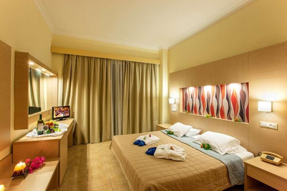 Hotelkamer van Marianne Palace in Kolymbia, Rhodos
