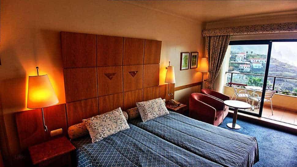 Hotelkamer van Monte Mar Palace Hotel in Ponta Delgada, Madeira