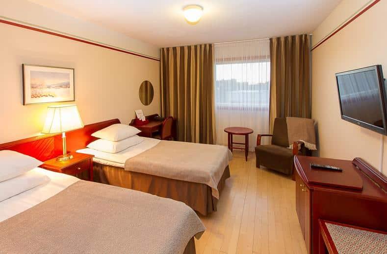 Hotelkamer van Original Sokos Kuusamo in Kuusamo, Lapland, Finland