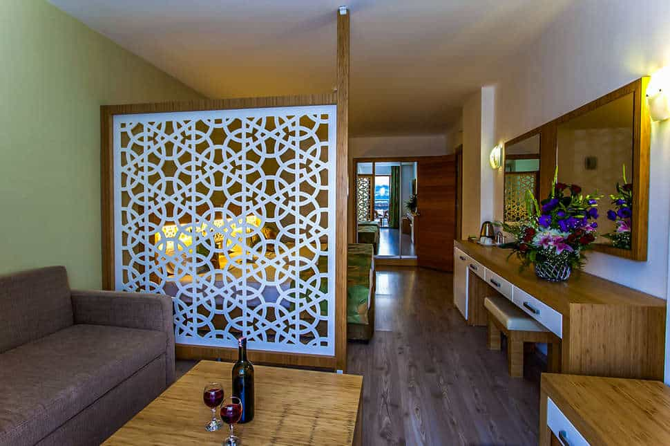 Hotelkamer van SPLASHWORLD Eftalia Splash Resort in Alanya, Turkije