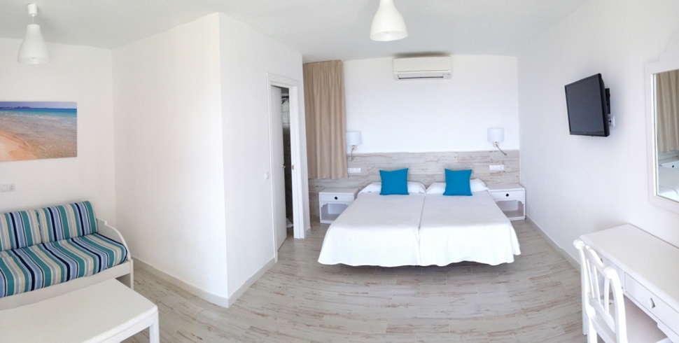 Hotelkamer van Sun Club El Dorado in El Dorado, Mallorca