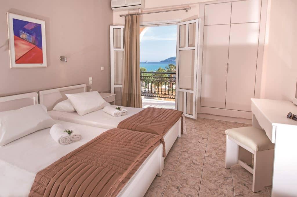 Hotelkamer van Zante Sun Hotel in Agios Sostis, Zakynthos