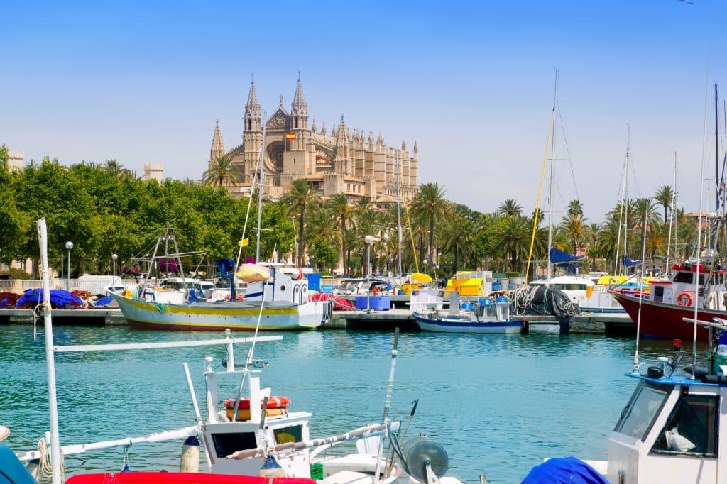 Kasteel in Palma de Mallorca, Mallorca