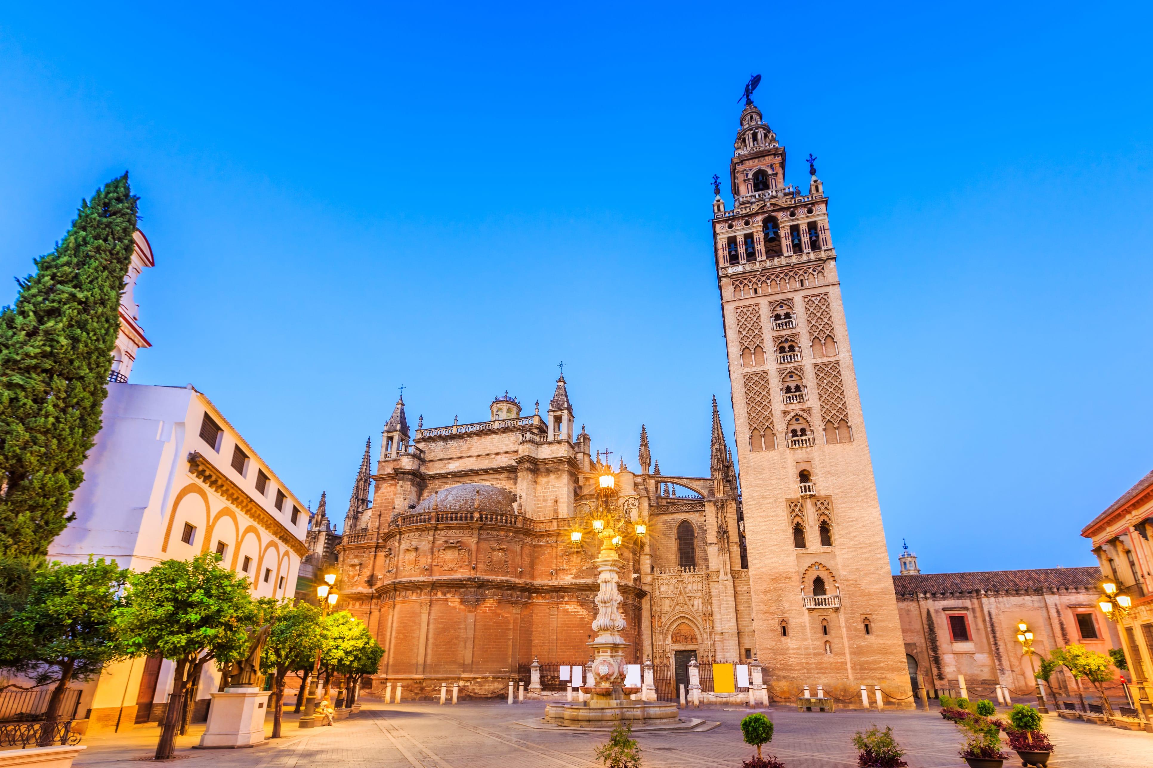 kathedraal in sevilla spanje