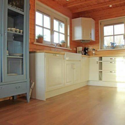 Keuken van Fins vakantiehuis in De Cocksdorp, Texel
