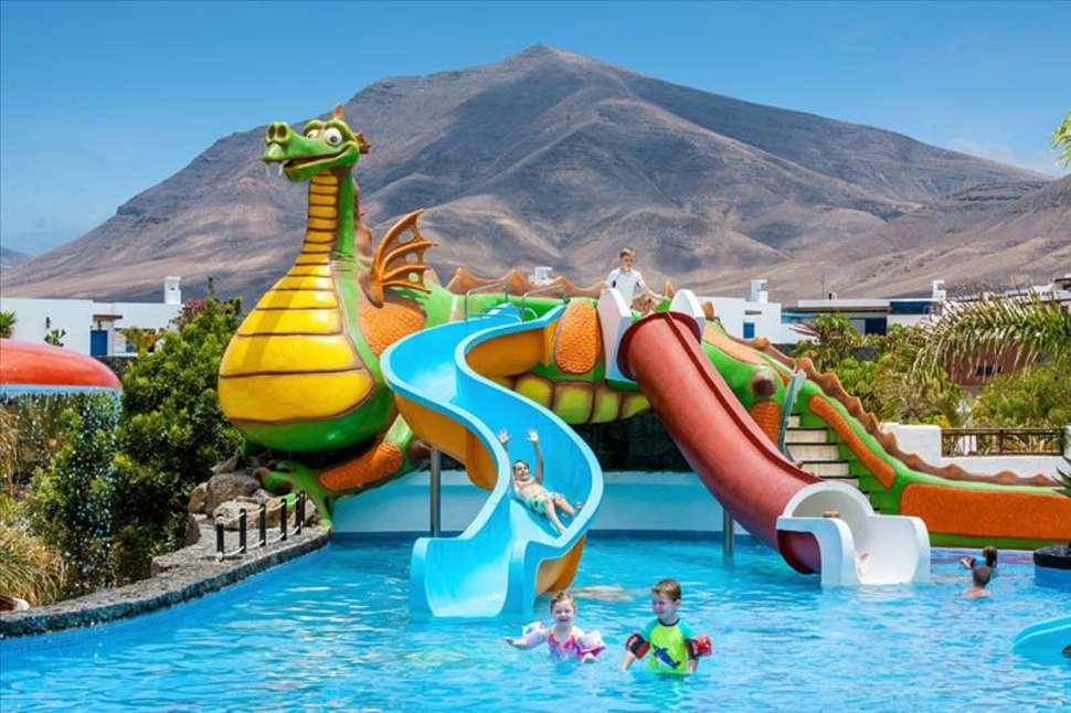 Kinderbad van Gran Castillo Tagoro Hotel & Resort in Playa Blanca, Lanzarote