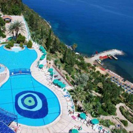 Ligging van Ephesus Princess Resort & Hotel in Kusadasi, Turkije