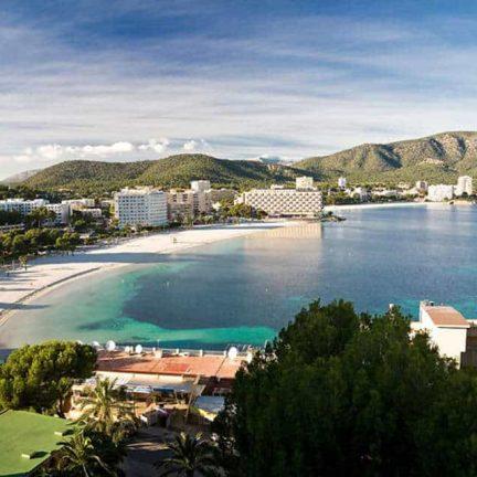 Ligging van Hotel Fergus Tobago in Palmanova, Mallorca