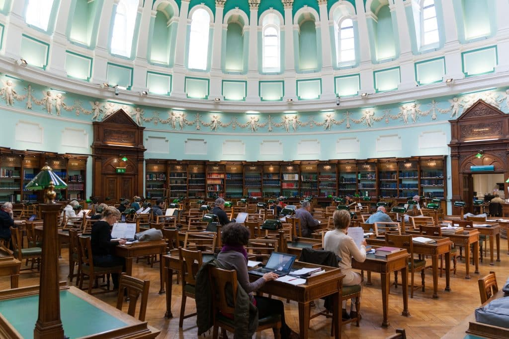 National Library of Ireland in Dublin, Ierland