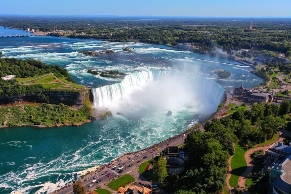 Niagarawatervallen in Canada