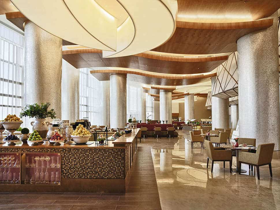 Restaurant van Al Ghuraur Rayhaan by Rotana in Dubai, Verenigde Arabische Emiraten