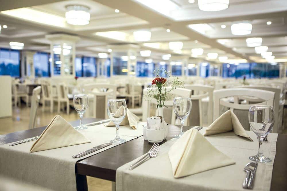 Restaurant van Bellis Deluxe Hotel in Belek, Turkije