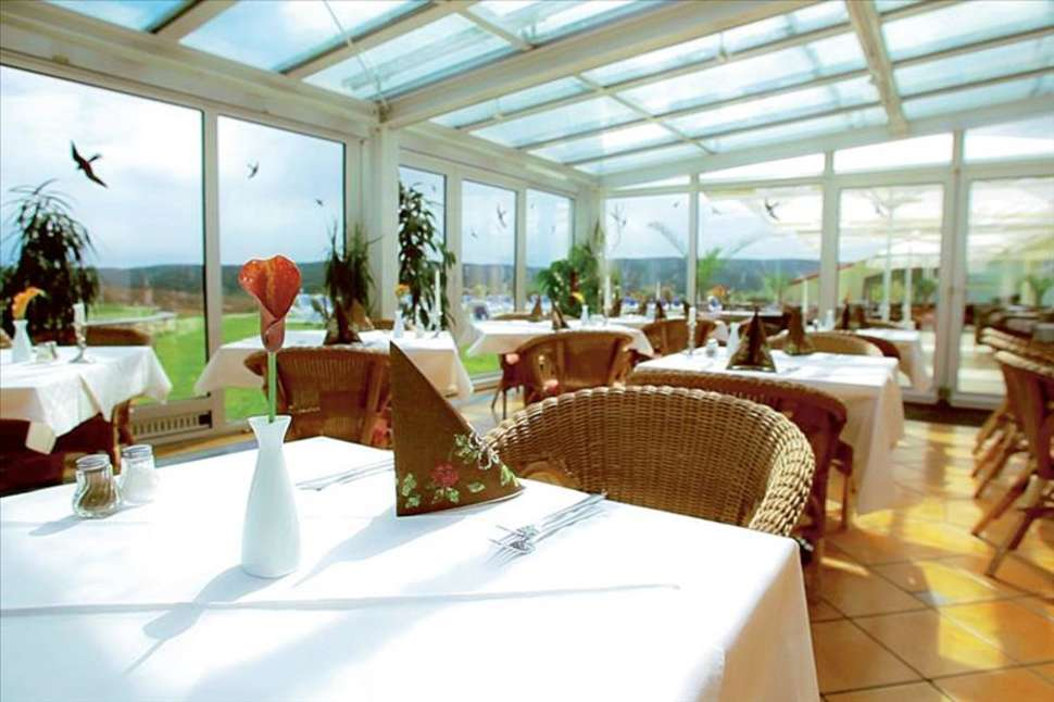 Restaurant van Fair Resort Hotel in Jena, Duitsland