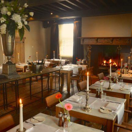 Restaurant van H Design Hotel Kasteel Coevorden in Drenthe