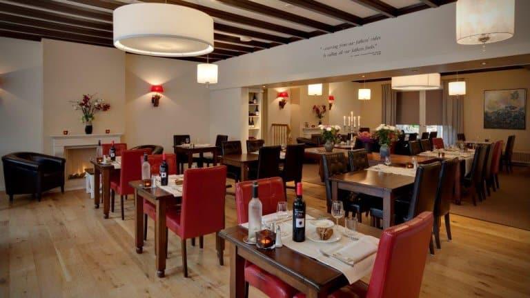 Restaurant van Landhotel de Hoofdige Boer in Almen, Gelderland