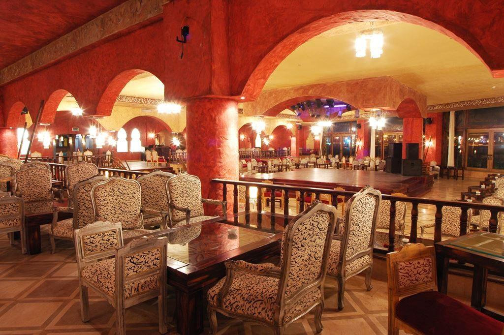 Restaurant van Sunny Days El Palacio Resort in Hurghada, Egypte