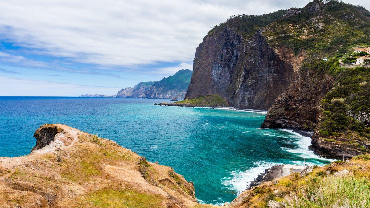 Rotskust van Madeira, Portugal