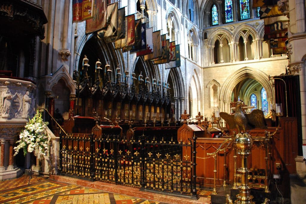 Saint Patrick's Cathedral in Dublin, Ierland