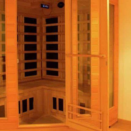 Sauna van Appartement Bergen aan Zee in Noord-Holland