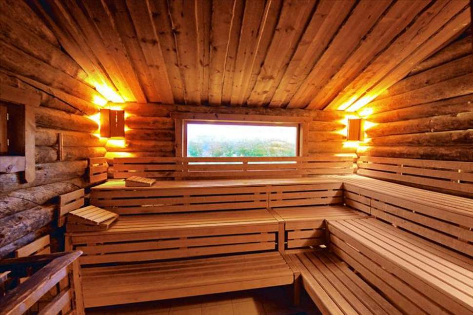 Sauna van Fair Resort Hotel in Jena, Duitsland