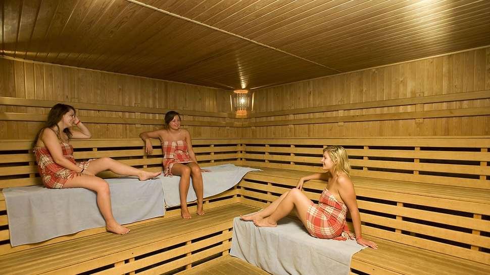 Sauna van Kervansaray Resort Marmaris in Marmaris, Turkije