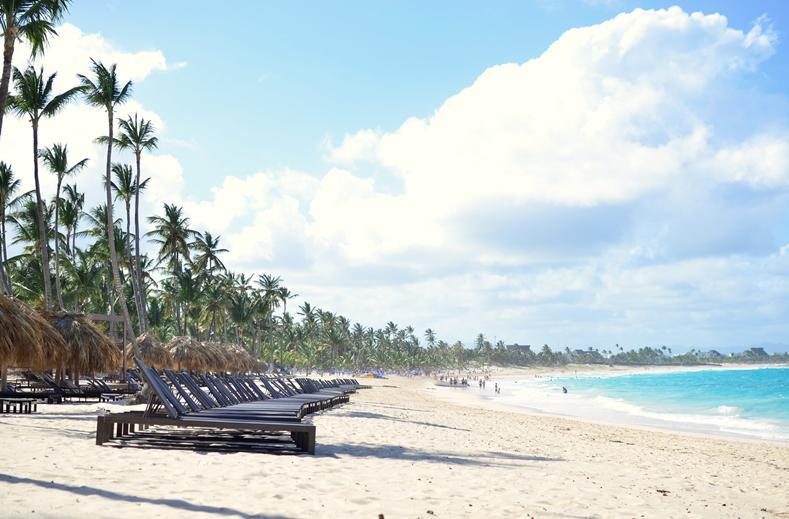 Strand van SPLASHWORLD Memories Splash Punta Cana in Punta Cana, Dominicaanse Republiek