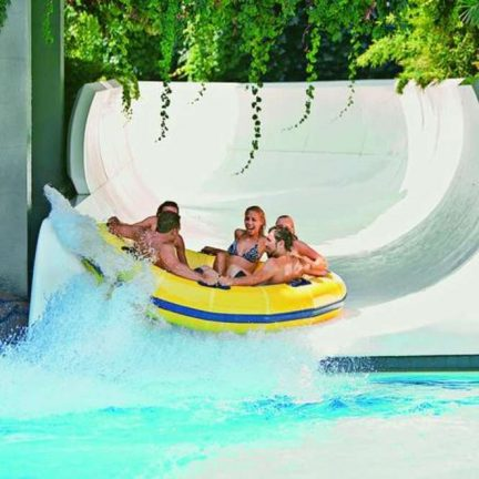 Tube glijbaan van SPLASHWORLD Ali Bey Park Resort in Side, Turkije