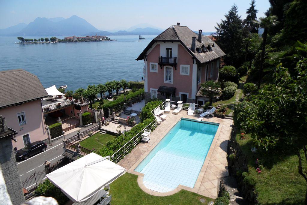 Villa Baveno aan het Lago Maggiore, Italië